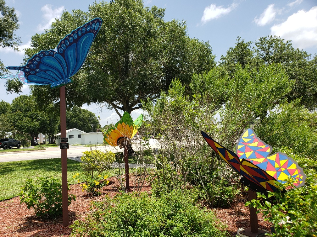 butterfly garden project okeechobee florida